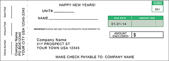 pin payment coupon book template on pinterest
