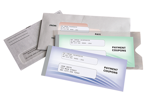 Personalized Coupon Payment Book