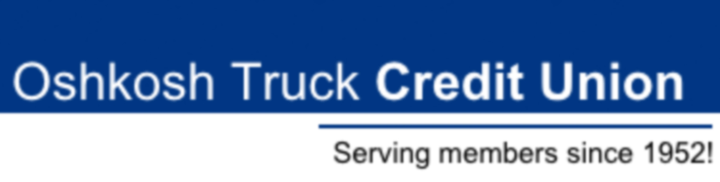Oshkosh Truck Credit Union logo
