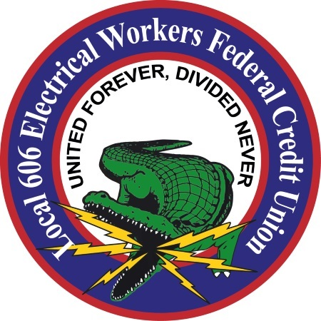 Local 606 Elec Work FCU  logo