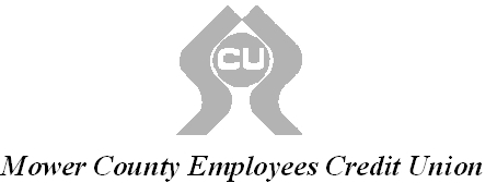 Mower County Employees CU logo