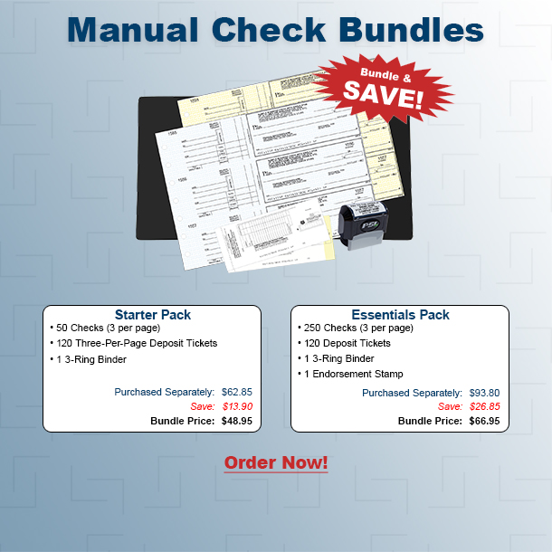 Manual Business Check Bundle