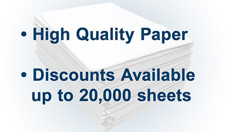 High Quality Paper with Discounts Available
