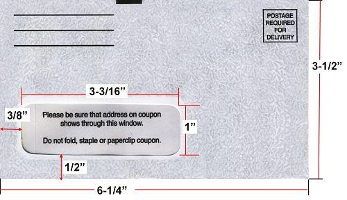Return Envelope, Remittance Envelope