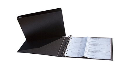 Manual Duplicate Business Check Binder
