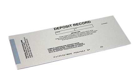 Duplicate Business Deposit Tickets