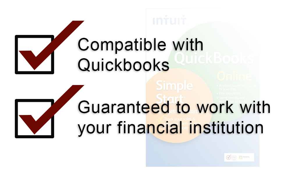 Compatible with Quickbooks