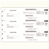 Three Per Page Business Deposit Tickets