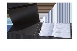 Business Manual Check Binder