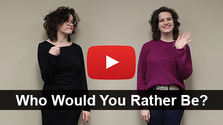 Who Would You Rather Be? (Letter Print & Mail) - Video
